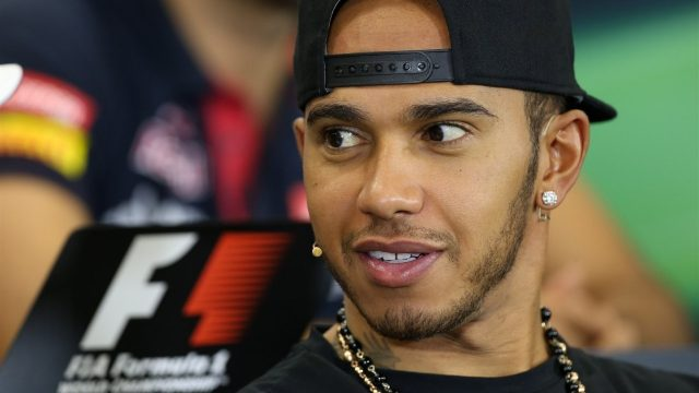 Lewis Hamilton (GBR) Mercedes AMG F1 at the press conference at Formula One World Championship, Rd17, Mexican Grand Prix, Preparations, Circuit Hermanos Rodriguez, Mexico City, Mexico, Thursday 29 October 2015. &copy&#x3b; Sutton Motorsport Images