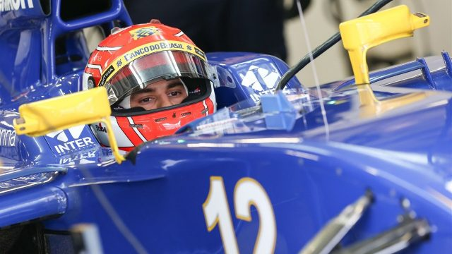Felipe Nasr (BRA) Sauber C34 at Formula One World Championship, Rd17, Mexican Grand Prix, Practice, Circuit Hermanos Rodriguez, Mexico City, Mexico, Friday 30 October 2015. &copy&#x3b; Sutton Motorsport Images