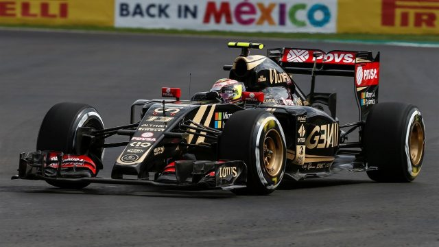 Pastor Maldonado (VEN) Lotus E23 Hybrid at Formula One World Championship, Rd17, Mexican Grand Prix, Practice, Circuit Hermanos Rodriguez, Mexico City, Mexico, Friday 30 October 2015. &copy&#x3b; Sutton Motorsport Images
