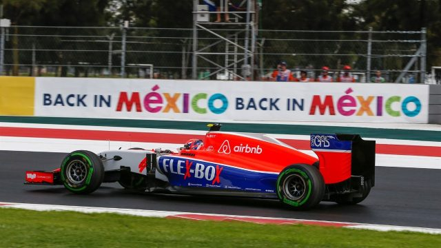 Alexander Rossi (USA) Marussia F1 Team  at Formula One World Championship, Rd17, Mexican Grand Prix, Practice, Circuit Hermanos Rodriguez, Mexico City, Mexico, Friday 30 October 2015. &copy&#x3b; Sutton Motorsport Images