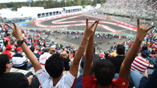Fans at Formula One World Championship, Rd17, Mexican Grand Prix, Practice, Circuit Hermanos Rodriguez, Mexico City, Mexico, Friday 30 October 2015. &copy&#x3b; Sutton Motorsport Images