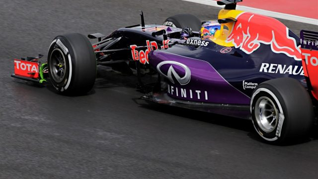 Daniel Ricciardo (AUS) Red Bull Racing RB11at Formula One World Championship, Rd17, Mexican Grand Prix, Practice, Circuit Hermanos Rodriguez, Mexico City, Mexico, Friday 30 October 2015. &copy&#x3b; Sutton Motorsport Images