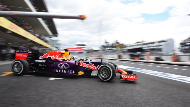 Daniel Ricciardo (AUS) Red Bull Racing RB11 at Formula One World Championship, Rd17, Mexican Grand Prix, Practice, Circuit Hermanos Rodriguez, Mexico City, Mexico, Friday 30 October 2015. &copy&#x3b; Sutton Motorsport Images