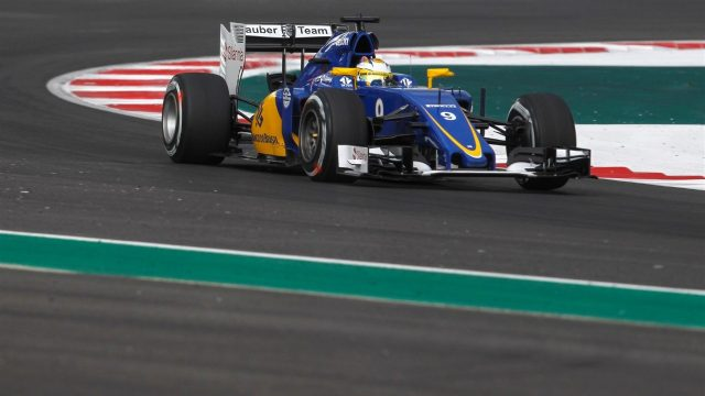 Marcus Ericsson (SWE) Sauber C34 at Formula One World Championship, Rd17, Mexican Grand Prix, Practice, Circuit Hermanos Rodriguez, Mexico City, Mexico, Friday 30 October 2015. &copy&#x3b; Sutton Motorsport Images