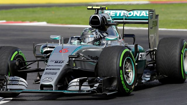 Nico Rosberg (GER) Mercedes AMG F1 W06 at Formula One World Championship, Rd17, Mexican Grand Prix, Practice, Circuit Hermanos Rodriguez, Mexico City, Mexico, Friday 30 October 2015. &copy&#x3b; Sutton Motorsport Images