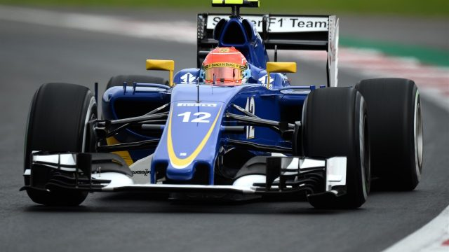 Felipe Nasr (BRA) Sauber C34 at Formula One World Championship, Rd17, Mexican Grand Prix, Qualifying, Circuit Hermanos Rodriguez, Mexico City, Mexico, Saturday 31 October 2015. &copy&#x3b; Sutton Motorsport Images