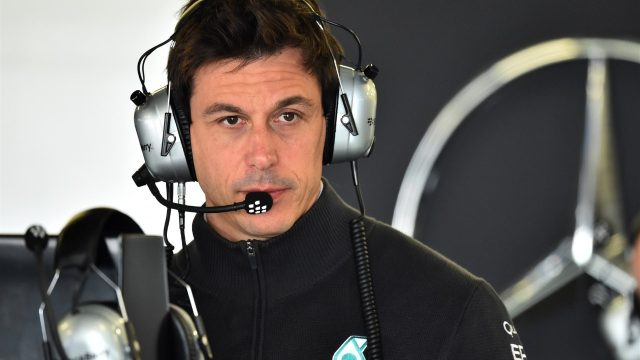 Toto Wolff (AUT) Mercedes AMG F1 Director of Motorsport at Formula One World Championship, Rd17, Mexican Grand Prix, Qualifying, Circuit Hermanos Rodriguez, Mexico City, Mexico, Saturday 31 October 2015. &copy&#x3b; Sutton Motorsport Images