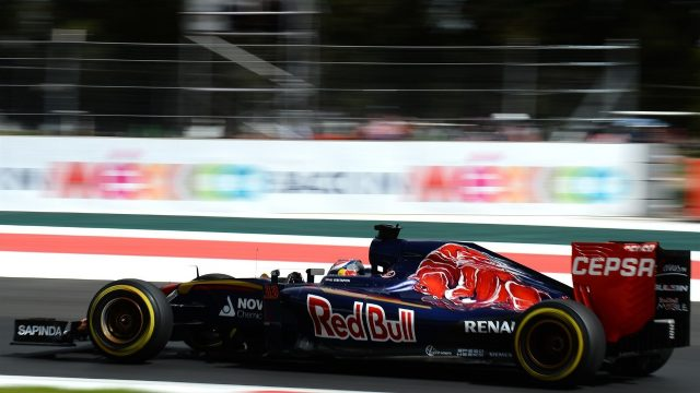Max Verstappen (NDL) Scuderia Toro Rosso STR10 at Formula One World Championship, Rd17, Mexican Grand Prix, Qualifying, Circuit Hermanos Rodriguez, Mexico City, Mexico, Saturday 31 October 2015. &copy&#x3b; Sutton Motorsport Images