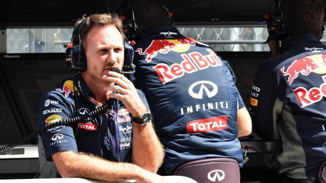 Christian Horner (GBR) Red Bull Racing Team Principal at Formula One World Championship, Rd17, Mexican Grand Prix, Qualifying, Circuit Hermanos Rodriguez, Mexico City, Mexico, Saturday 31 October 2015. &copy&#x3b; Sutton Motorsport Images