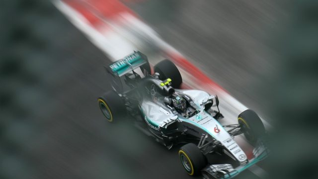 Nico Rosberg (GER) Mercedes AMG F1 W06 at Formula One World Championship, Rd17, Mexican Grand Prix, Qualifying, Circuit Hermanos Rodriguez, Mexico City, Mexico, Saturday 31 October 2015. &copy&#x3b; Sutton Motorsport Images