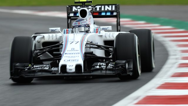 Valtteri Bottas (FIN) Williams FW37 at Formula One World Championship, Rd17, Mexican Grand Prix, Qualifying, Circuit Hermanos Rodriguez, Mexico City, Mexico, Saturday 31 October 2015. &copy&#x3b; Sutton Motorsport Images