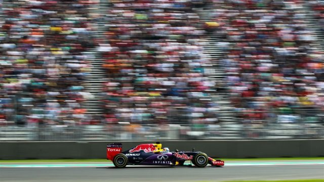 Daniel Ricciardo (AUS) Red Bull Racing RB11 at Formula One World Championship, Rd17, Mexican Grand Prix, Race, Circuit Hermanos Rodriguez, Mexico City, Mexico, Sunday 1  November 2015. &copy&#x3b; Sutton Motorsport Images