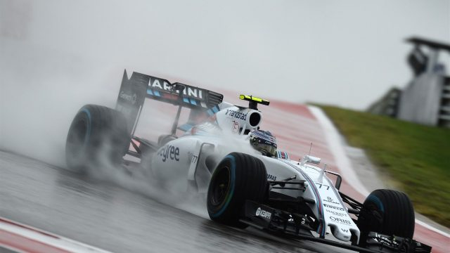 Valtteri Bottas (FIN) Williams FW37 at Formula One World Championship, Rd16, United States  Grand Prix, Qualifying, Austin, Texas, USA, Saturday 24 October 2015. &copy&#x3b; Sutton Motorsport Images