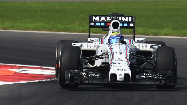 Felipe Massa (BRA) Williams FW37 at Formula One World Championship, Rd17, Mexican Grand Prix, Race, Circuit Hermanos Rodriguez, Mexico City, Mexico, Sunday 1  November 2015. &copy&#x3b; Sutton Motorsport Images