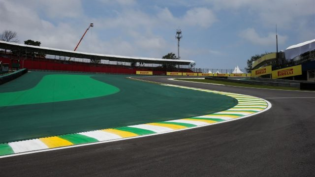 Track view at Formula One World Championship, Rd18, Brazilian Grand Prix, Preparations, Interlagos, Sao Paulo, Brazil, Thursday 12 November 2015. &copy&#x3b; Sutton Motorsport Images