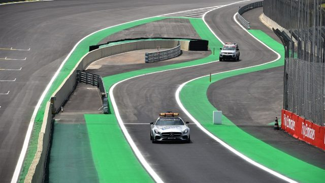 Safety car at Formula One World Championship, Rd18, Brazilian Grand Prix, Preparations, Interlagos, Sao Paulo, Brazil, Thursday 12 November 2015. &copy&#x3b; Sutton Motorsport Images
