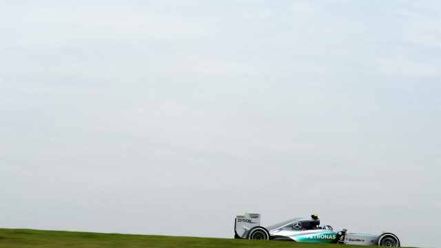 Nico Rosberg (GER) Mercedes AMG F1 W06 at Formula One World Championship, Rd18, Brazilian Grand Prix, Practice, Interlagos, Sao Paulo, Brazil, Friday 13 November 2015. &copy&#x3b; Sutton Motorsport Images