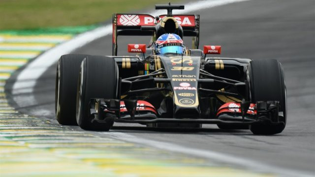 Jolyon Palmer (GBR) Lotus Test and Reserve Driver at Formula One World Championship, Rd18, Brazilian Grand Prix, Practice, Interlagos, Sao Paulo, Brazil, Friday 13 November 2015. &copy&#x3b; Sutton Motorsport Images
