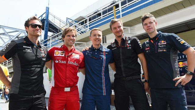 Driver trainers at Formula One World Championship, Rd18, Brazilian Grand Prix, Qualifying, Interlagos, Sao Paulo, Brazil, Saturday 14 November 2015. &copy&#x3b; Sutton Motorsport Images