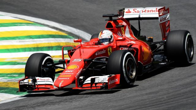 Sebastian Vettel (GER) Ferrari SF15-T at Formula One World Championship, Rd18, Brazilian Grand Prix, Qualifying, Interlagos, Sao Paulo, Brazil, Saturday 14  November 2015. &copy&#x3b; Sutton Motorsport Images