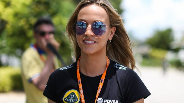 Carmen Jorda (ESP) Lotus F1 Team Development Driver, at Formula One World Championship, Rd2, Malaysian Grand Prix, Qualifying, Sepang, Malaysia, Saturday 28  March 2015. &copy&#x3b; Sutton Motorsport Images