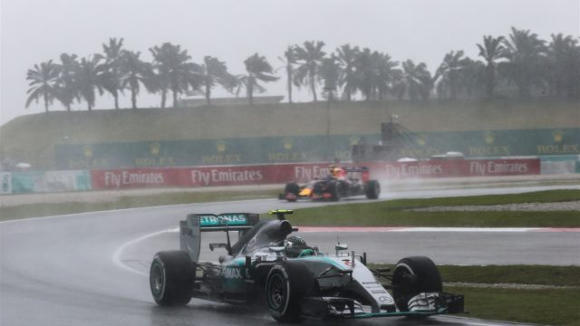 Nico Rosberg (GER) Mercedes AMG F1 W06 at Formula One World Championship, Rd2, Malaysian Grand Prix, Qualifying, Sepang, Malaysia, Saturday 28  March 2015. &copy&#x3b; Sutton Motorsport Images