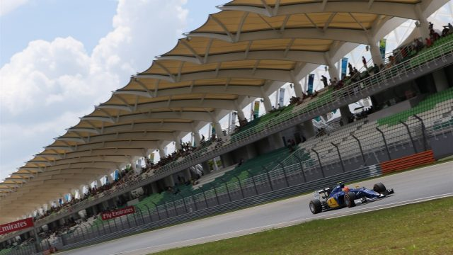 Felipe Nasr (BRA) Sauber C34 at Formula One World Championship, Rd2, Malaysian Grand Prix, Qualifying, Sepang, Malaysia, Saturday 28  March 2015. &copy&#x3b; Sutton Motorsport Images