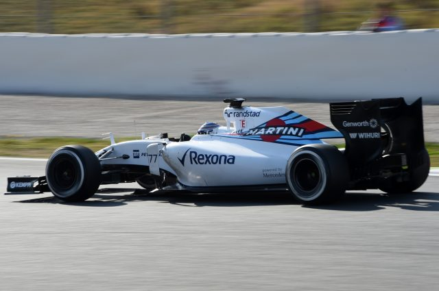 Valtteri Bottas (FIN) Williams FW37 at Formula One Testing, Day Four, Barcelona, Spain, 1 March 2015.