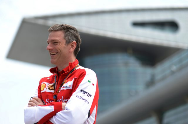 James Allison (GBR) Ferrari Tecnical Director at Formula One World Championship, Rd3, Chinese Grand Prix, Preparations, Shanghai, China, Thursday 9 April 2015. &copy&#x3b; Sutton Motorsport Images