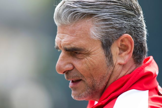 Ferrari team principal Maurizio Arrivabene. Shanghai, China, Thursday 9 April 2015. &copy&#x3b; Sutton Motorsport Images