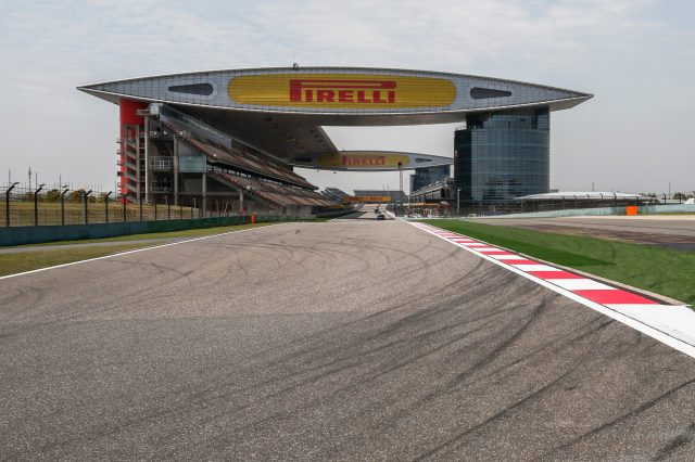The impressive Shanghai International Circuit. China, Thursday 9 April 2015. &copy&#x3b; Sutton Motorsport Images
