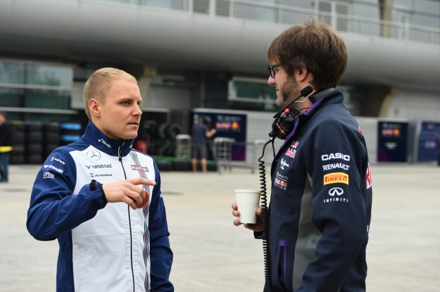Valtteri Bottas (FIN) Williams at Formula One World Championship, Rd3, Chinese Grand Prix, Preparations, Shanghai, China, Thursday 9 April 2015. &copy&#x3b; Sutton Motorsport Images
