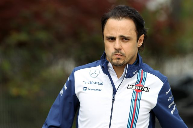 Felipe Massa (BRA) Williams at Formula One World Championship, Rd3, Chinese Grand Prix, Preparations, Shanghai, China, Thursday 9 April 2015. &copy&#x3b; Sutton Motorsport Images