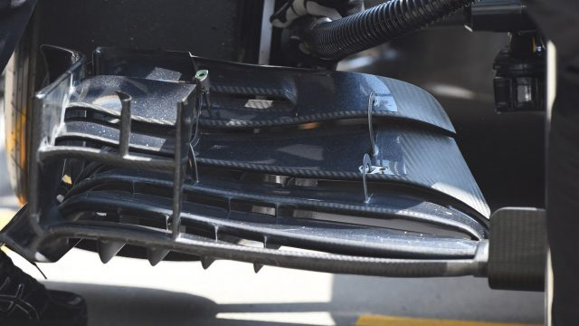 McLaren MP4-30 front wing detail at Formula One World Championship, Rd3, Chinese Grand Prix, Practice, Shanghai, China, Friday 10 April 2015. &copy&#x3b; Sutton Motorsport Images