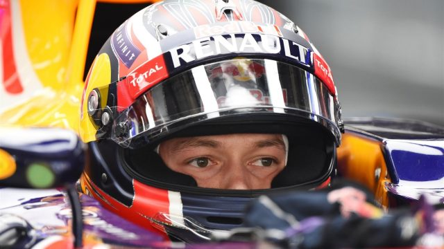 Daniil Kvyat (RUS) Red Bull Racing RB11 at Formula One World Championship, Rd3, Chinese Grand Prix, Practice, Shanghai, China, Friday 10 April 2015. &copy&#x3b; Sutton Motorsport Images