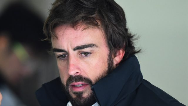 Fernando Alonso (ESP) McLaren at Formula One World Championship, Rd3, Chinese Grand Prix, Practice, Shanghai, China, Friday 10 April 2015. &copy&#x3b; Sutton Motorsport Images