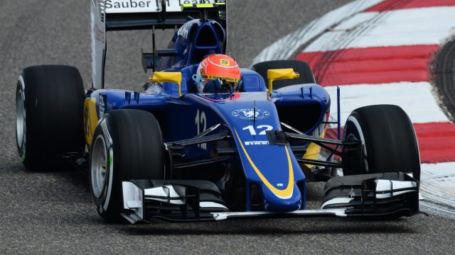 Felipe Nasr (BRA) Sauber C34 at Formula One World Championship, Rd3, Chinese Grand Prix, Practice, Shanghai, China, Friday 10 April 2015. &copy&#x3b; Sutton Motorsport Images