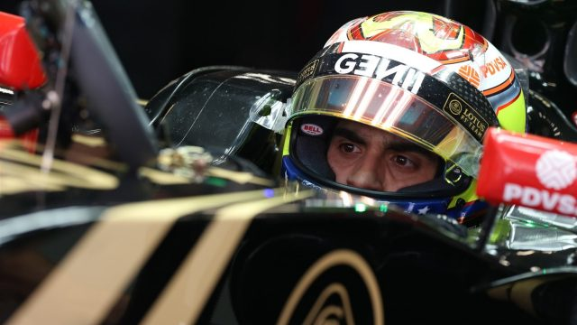 Pastor Maldonado (VEN) Lotus E23 Hybrid at Formula One World Championship, Rd3, Chinese Grand Prix, Practice, Shanghai, China, Friday 10 April 2015. &copy&#x3b; Sutton Motorsport Images