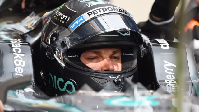 Nico Rosberg (GER) Mercedes AMG F1 W06 at Formula One World Championship, Rd3, Chinese Grand Prix, Practice, Shanghai, China, Friday 10 April 2015. &copy&#x3b; Sutton Motorsport Images