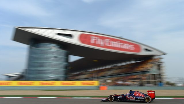Max Verstappen (NDL) Scuderia Toro Rosso STR10 at Formula One World Championship, Rd3, Chinese Grand Prix, Practice, Shanghai, China, Friday 10 April 2015. &copy&#x3b; Sutton Motorsport Images