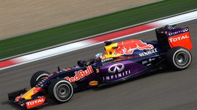 Daniel Ricciardo (AUS) Red Bull Racing RB11 at Formula One World Championship, Rd3, Chinese Grand Prix, Practice, Shanghai, China, Friday 10 April 2015. &copy&#x3b; Sutton Motorsport Images
