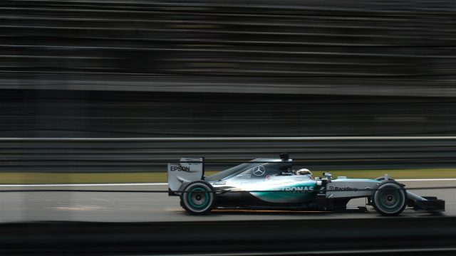 Lewis Hamilton (GBR) Mercedes AMG F1 W06 at Formula One World Championship, Rd3, Chinese Grand Prix, Practice, Shanghai, China, Friday 10 April 2015. &copy&#x3b; Sutton Motorsport Images