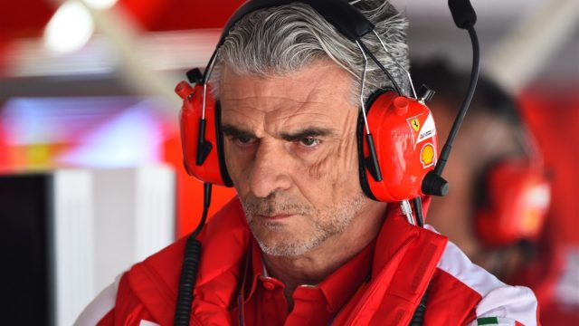 Maurizio Arrivabene (ITA) Ferrari Team Principal at Formula One World Championship, Rd3, Chinese Grand Prix, Practice, Shanghai, China, Friday 10 April 2015. &copy&#x3b; Sutton Motorsport Images