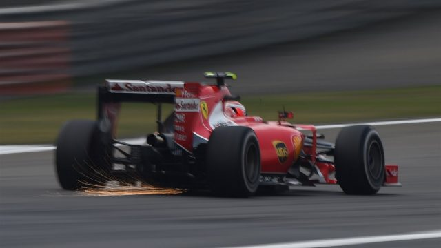 Kimi Raikkonen (FIN) Ferrari SF15-T at Formula One World Championship, Rd3, Chinese Grand Prix, Practice, Shanghai, China, Friday 10 April 2015. &copy&#x3b; Sutton Motorsport Images