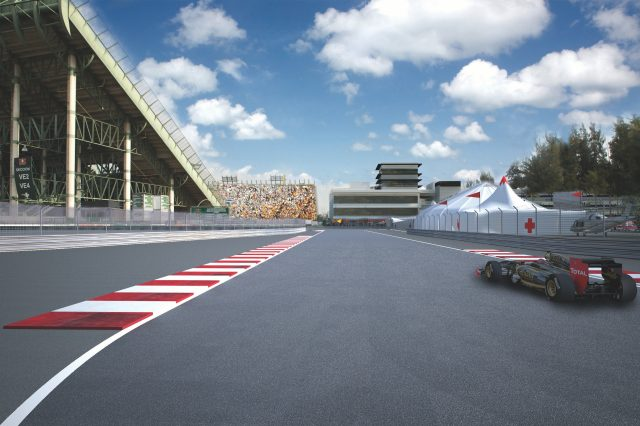 Mexico uncovered the inside story of mexico city 39 s f1 return for Puerta 2 autodromo hermanos rodriguez