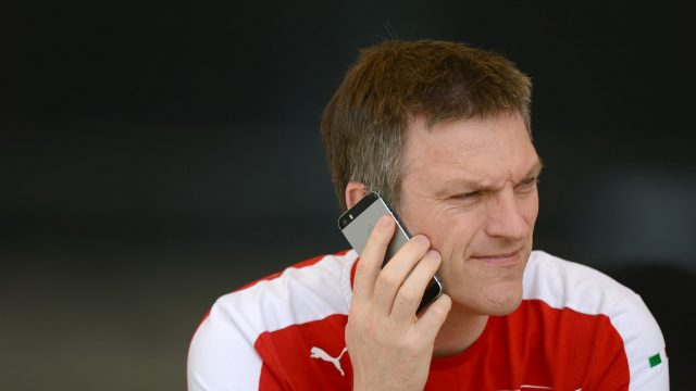 James Allison (GBR) Ferrari Technical Director at Formula One World Championship, Rd4, Bahrain Grand Prix Preparations, Bahrain International Circuit, Sakhir, Bahrain, Thursday 16  April 2015. &copy&#x3b; Sutton Motorsport Images