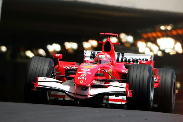 Michael Schumacher (GER) Ferrari 248 F1.