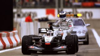 Do you remember... Hakkinen's dramatic last lap retirement in Spain