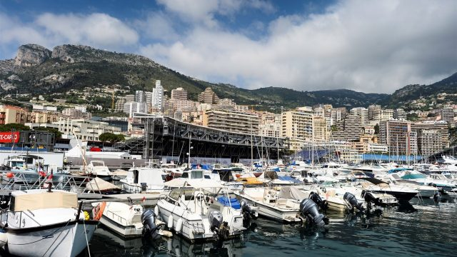 Monaco skyline at Formula One World Championship, Rd6, Monaco Grand Prix Preparations, Monte-Carlo, Monaco, Wednesday 20 May 2015. &copy&#x3b; Sutton Motorsport Images