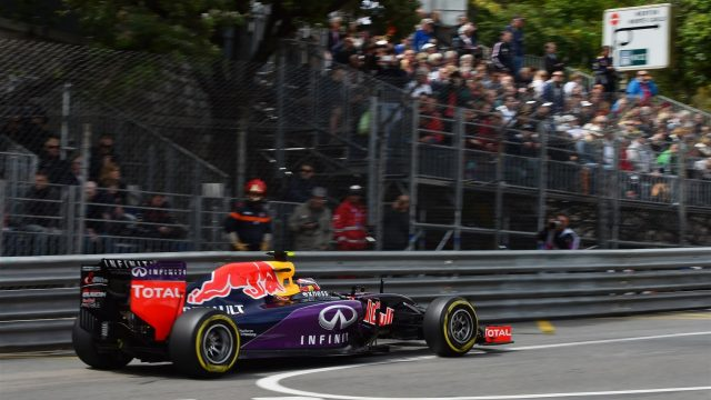 Daniil Kvyat (RUS) Red Bull Racing RB11 at Formula One World Championship, Rd6, Monaco Grand Prix Practice, Monte-Carlo, Monaco, Thursday 21  May 2015. &copy&#x3b; Sutton Motorsport Images